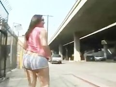 Krystal Jordan flashes and Fucks in Public