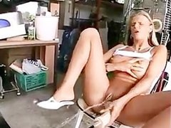 Lulu loves to get fucked hard by a machine