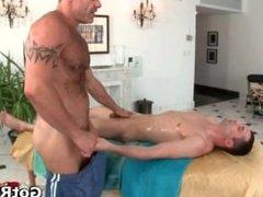 Massage pro gets his tattooed anus part3