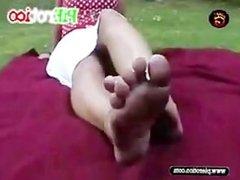 PiErotico barefoot Pies sucios