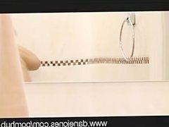 DaneJones Lesbian Shower Fantasy