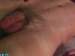Hot gay threesome fucking