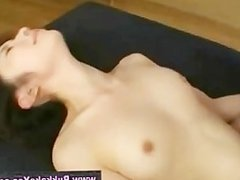 Bukkake asian fuck and facial