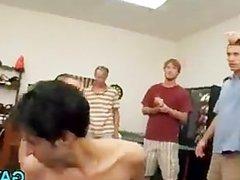 Fragile male slut endures cock
