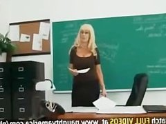 profesora follando a su alumno