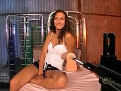 German Jana loves to get fucked hard by a machine