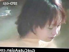 Horny Japanese ladies bathing part3