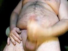 Gordito argentino paja por cam