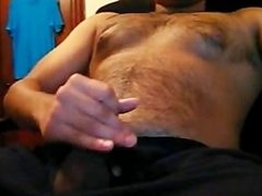 Bear from Argentina jerking off