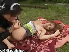 Kane Hotaru Asian model enjoys outdoor part3
