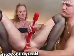 Mature MILF gets all her holes filled part6