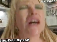 Mature MILF gets asshole fucked part4