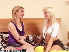 Two horny and slutty babes having fun part4