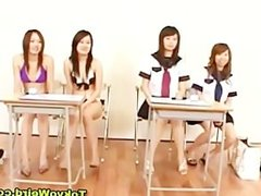Asian schoolgirls blowjob and facial cumshot