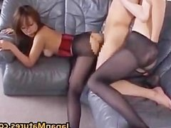 Amazing mature Asian chick gets part6