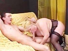Italian Blonde Housewife Casalingua Italiana