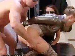 Golden shower ffm fuck threesome