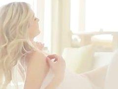 blonde undressing her luxury vagina