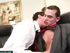 Seth having some gay porn fun with colleague By WorkingCock part2