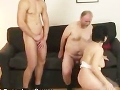 Granny from sucking to fucking