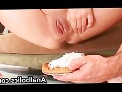 Nasty Holly West gets her poopshute part5