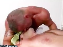Gay straight seduction blowjob