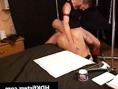 Gay dude gets his tight anus fisted part6