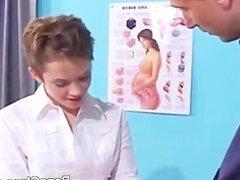 Schoolgirl looking for a teacher's cock
