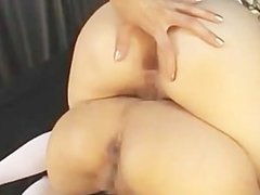 Girls Fucks 2 Lesbians Ass With Strapon