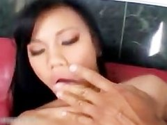 Hot asian babe gets fucking hard part2