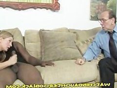 Interracial Suck and Fuck for Daughter