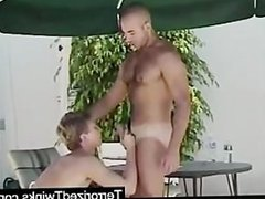 Straight boy painfully fucked for the first time