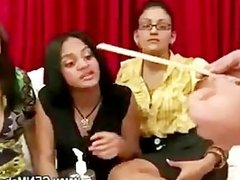 Girls want to measure hard cock