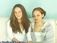 Lesbian Cuties Casting on the Couch part6