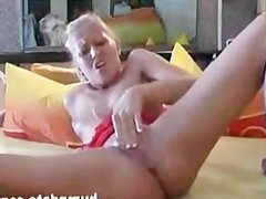Naughty girl toying and fisting her pussy