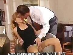 Cheating on wife - sexy hot blonde girl