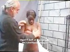 Intense Interracial Fetish Black Bondage