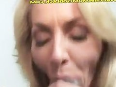 Huge Black Meat Going into Blonde Mom