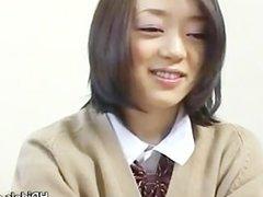 Cute asian schoolgirl upskirt video part5