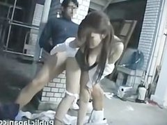 Asian lady has some hot sex in public part4