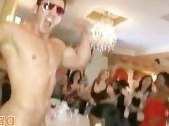Cowboy strip dancer fucking at club