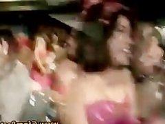 Cfnm amateur party girls suck stripper cock