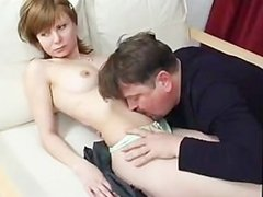 Old guy have sex with young girl part 12