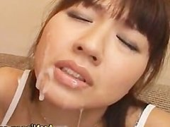 Double Blowjob and Cum Facial part5