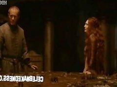 Celeb carice van houten nude on game of thrones redhead