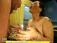 Fetish slut blowjobs and piss shower