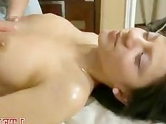 Cutie fucked in the bed