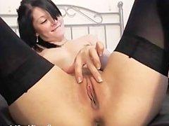 brunette girl chatting and fingering herself(2).flv