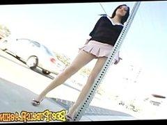 Rachel Milan - This Flasher looks like Mila Kunis Pt.1