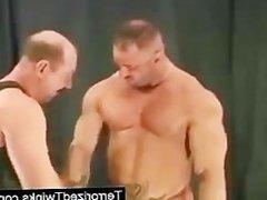 Great looking jock gets great blowjob